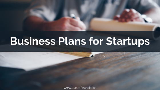 Business Plans for Startups