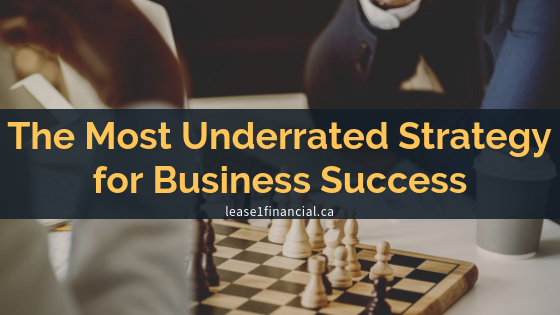 The Most Underrated Strategy for Business Success
