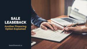 sale-leaseback